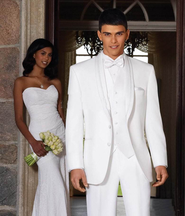 Pink And White Prom Suits - Hardon Clothes