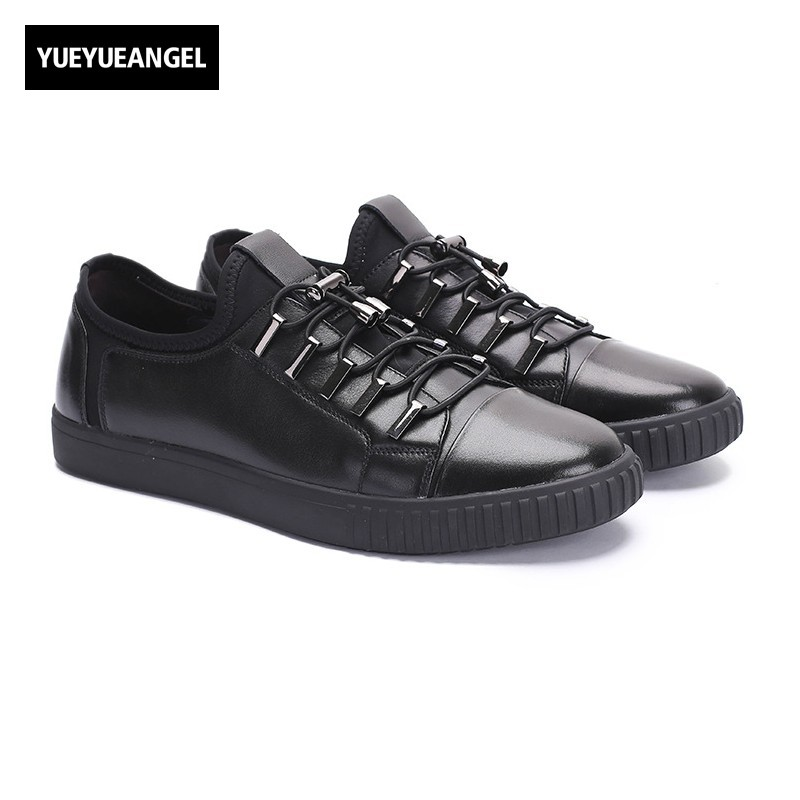 New Hot Sale Simple Fashion Men Genuine Leather Shoes Comfort Round Toe Business Classic Offic Work Shoes For Men Casual Driving memunia new arrive hot sale genuine