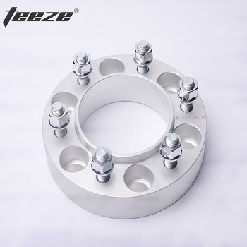 TEEZE Car styling wheel rim spacers 6x139.7 Wheel spacers for Toyota fortuner 6x5.5'' CB 106mm Separador de rueda 1 pieces image