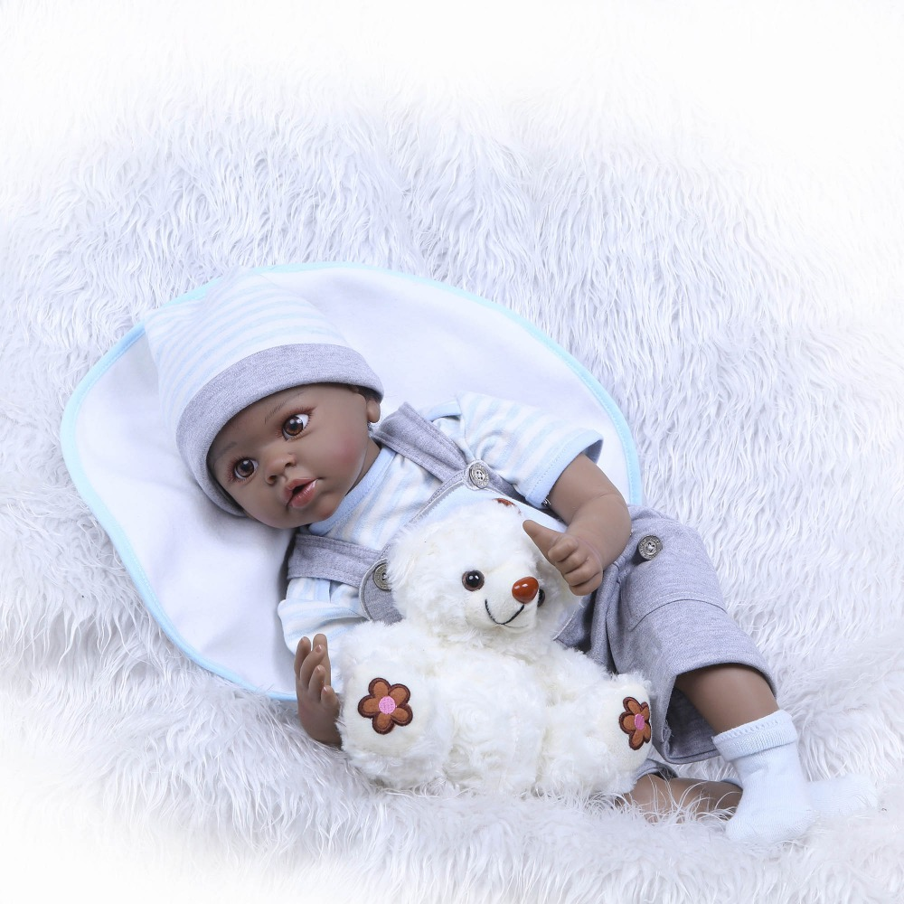 NPKCOLLECTION Reborn Baby Dolls Silicone Cloth Body Cute Soft Baby Alive Doll For Girls Princess Kid Fashion Bebe Reborn Dolls adorable soft cloth body silicone reborn toddler princess girl baby alive doll toys with strap denim skirts pink headband dolls