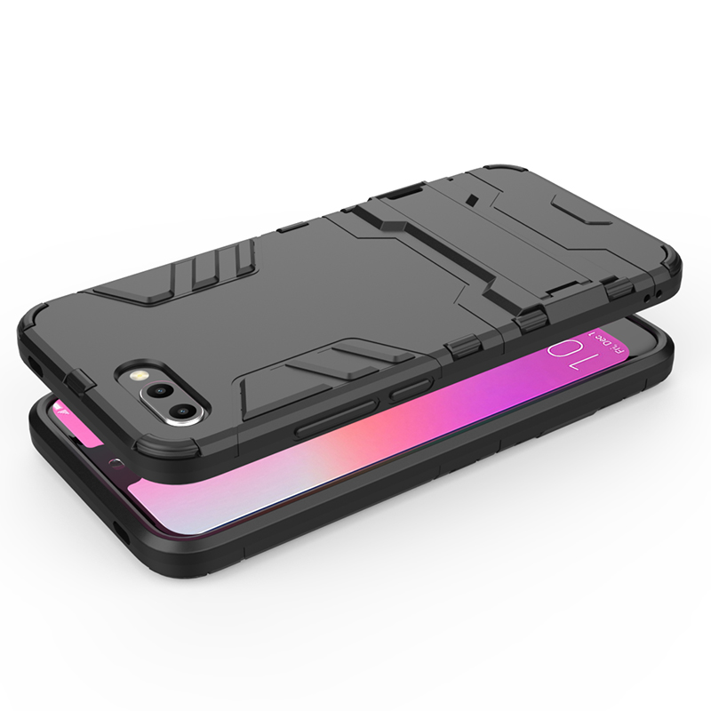 For Huawei Honor 10 Case Honor10 Cover Luxury Armor TPU + PC Shockproof Stand Back Capa for Huawei Honor 10 Cover Honor10 Case