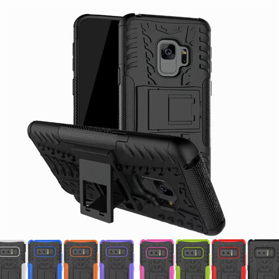 Heavy Duty Armor Shockproof Hybird Case For Samsung Galaxy S4 S5 S6 S7 edge S8 Plus A3 A5 A7 2017 J5 J7 J2 Prime J1 J3 NOTE 8 5 image
