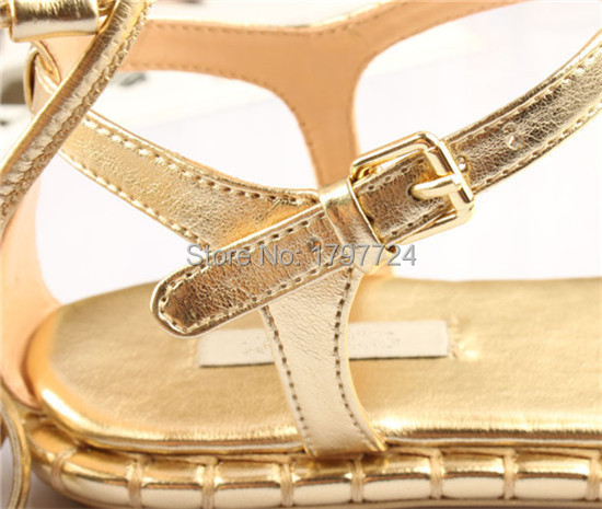 85580173fcf ... Sexy Lace Up Ankle Tie Flat Sandals Gold Leather Strappy Fringe Knee  High Gladiator Sandals Women ...