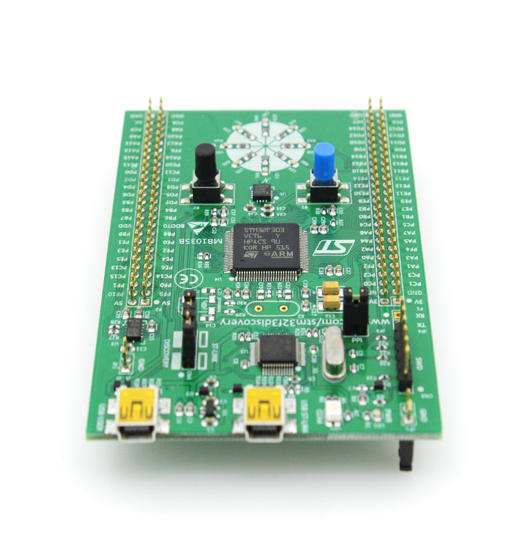 2016 New arrival STM32F3DISCOVERY STM32F3 development board 9DOF AHRS L3GD20 LSM303DLHC AR0001