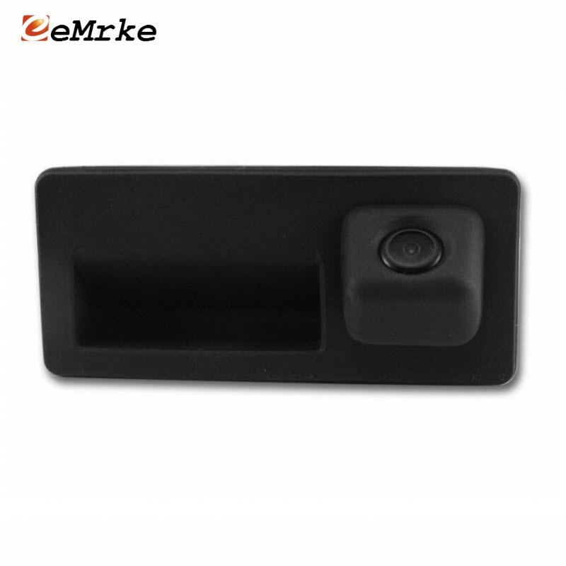 EEMRKE CCD HD Car Rear View Backup Cameras for Audi A4 A4L A8 A8L Q3 A5
