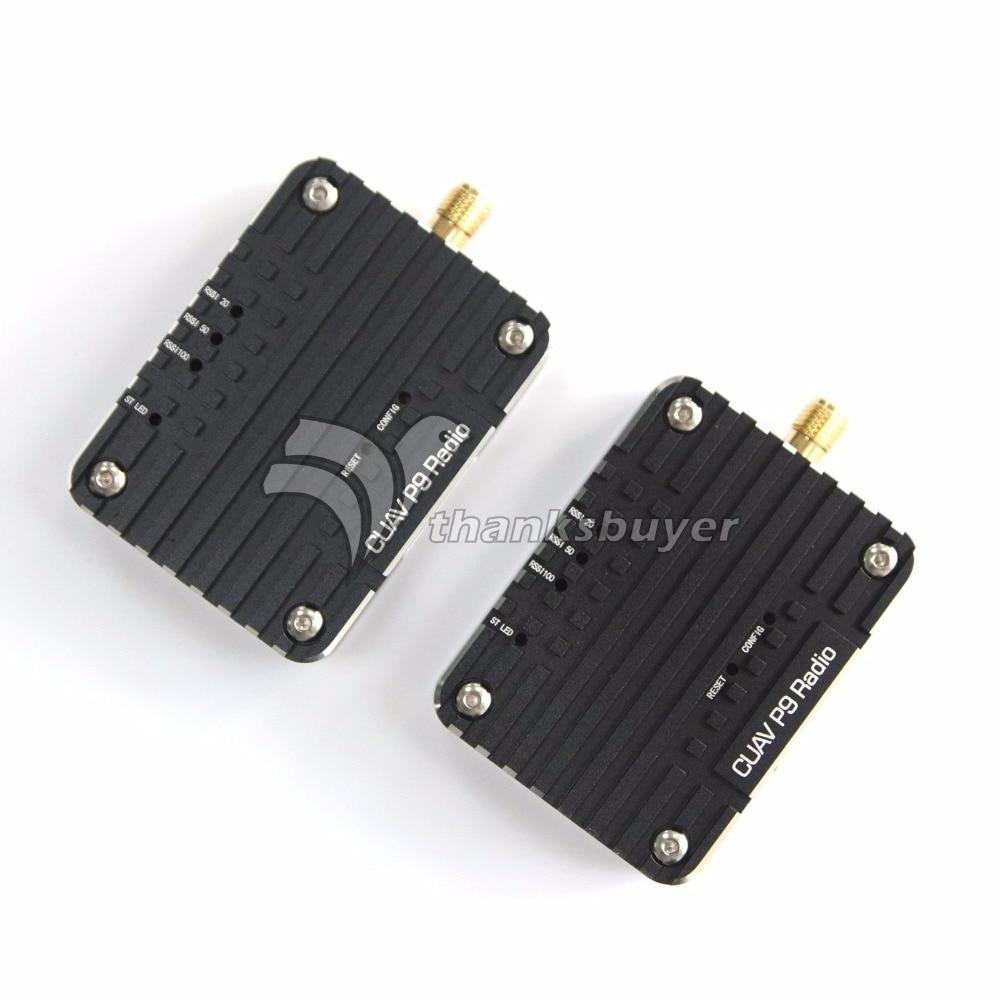 CUAV P9 900MHZ Radio Telemetry Wireless Transmission Module P900 20-30KM Distance for PIX PIXHACK Flight Controller rs232 to zigbee wireless module 1 6 km transmission cc2630 chip
