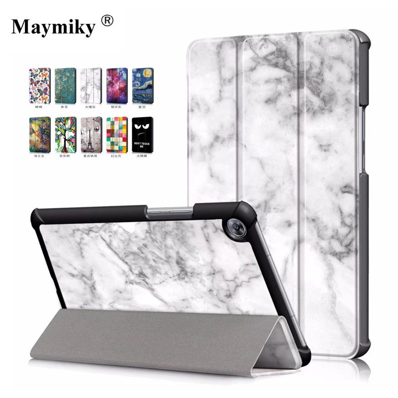 3In1 Magnet Smart Cover Leather Case For Huawei Mediapad M5 8 8.4 Inch SHT-W09 AL09 Tablet Case Protetcive Shell Auto Sleep Wake