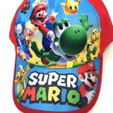 New 1pcs Super Mario Fashion Sun Hat Mario Casual Cosplay Baseball Cap