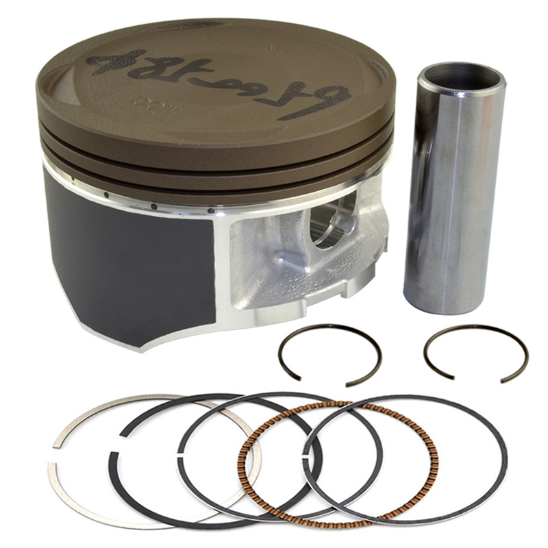 Motorcycle Engine Parts STD Cylinder Bore Size 85mm Pistons & Rings Kit For HONDA XR400 XR 400 1996-2004 цена и фото