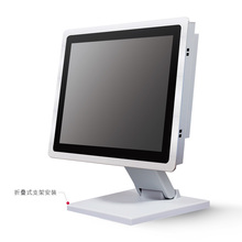 """Factory price 15"""" touchscreen All In One PC multi-touch pc panel 3mm with 2 1000M Nics 2COM 4G RAM ONLY Windows and Linux"""