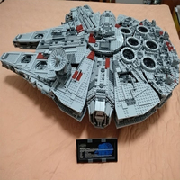In Stock 05033 Battle Ultimate Collector's Millennium Falcon 5265Pcs Building Blocks Compatible Legoings Star War 10179