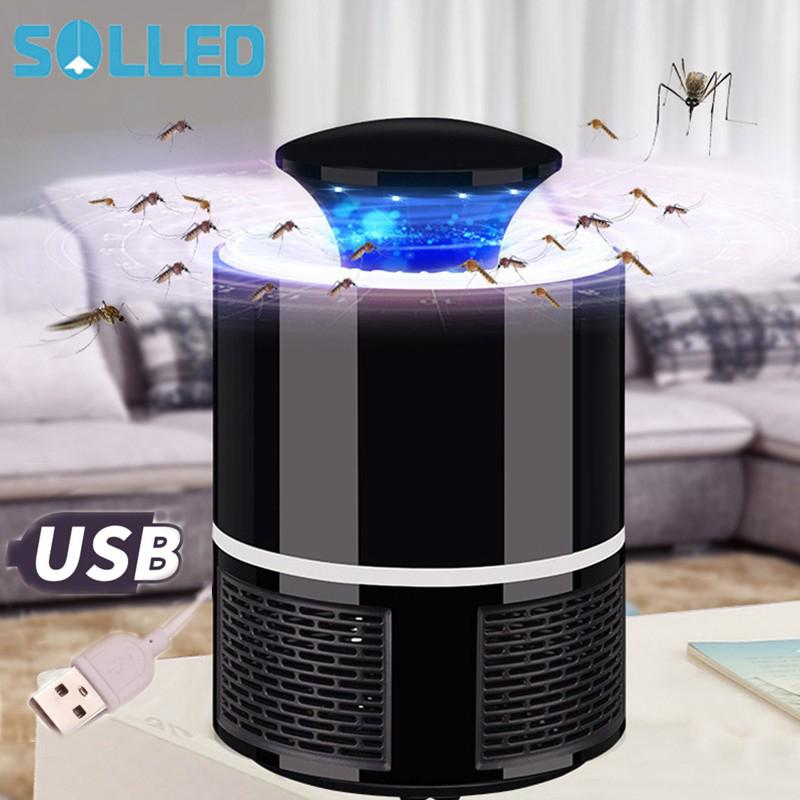 цена на SOLLED mosquito killer light/Lamps led USB anti fly electric mosquito lamp home LED bug zapper mosquito killer insect trap lamp