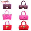 Strawberry Cute Cartoon Girls Plush Bag Single Shoulder Kawaii Anime Casual Shopper Tote Rabbit Women Handbag Bear Shoulder Bag