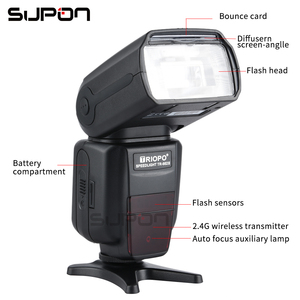 Image 3 - TRIOPO TR 982III TR 982 III 2.4G Wireless GN58 TTL 1/8000 HSS Master Slave Cameras Flash Speedlite for Nikon Canon