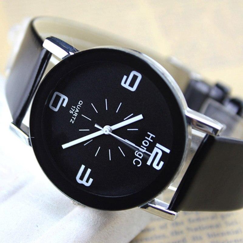 2018 Geneva Watches Women Leather Strap Students Children's Watches Bracelet Quartz Watches Kids Wristwatch Relogio Feminino