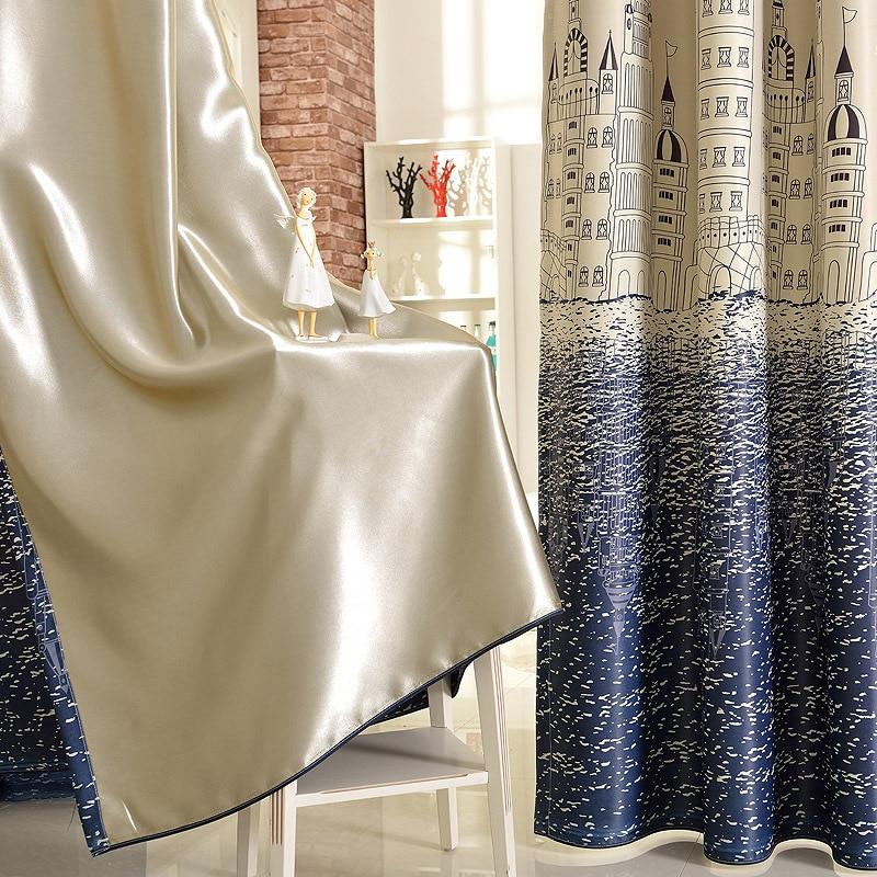 (Painel Único) Janela de Perfuração Cortinas Quarto Mediterrâneo - Têxteis domésticos - Foto 4