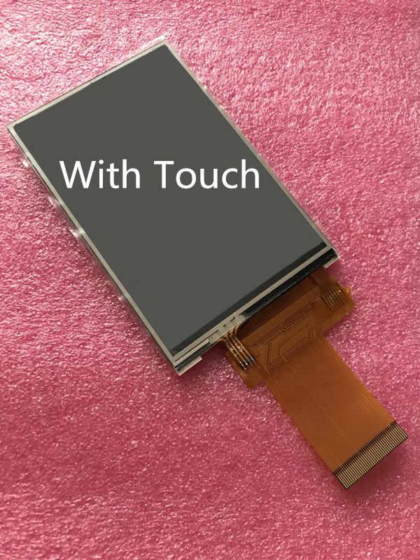 3.5 بوصة IPS عرض كامل شاشة LCD شاشة عرض 320x480 40PIN المقبس دعم MCU I8080 8/16nit SPI 3/4 سلك لوحة اللمس