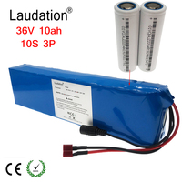 36V 10ah electric bicycle battery pack 42V 9.6ah 18650 Li Ion Battery 500W High Power and Capacity Motorcycle Scooter with BMS