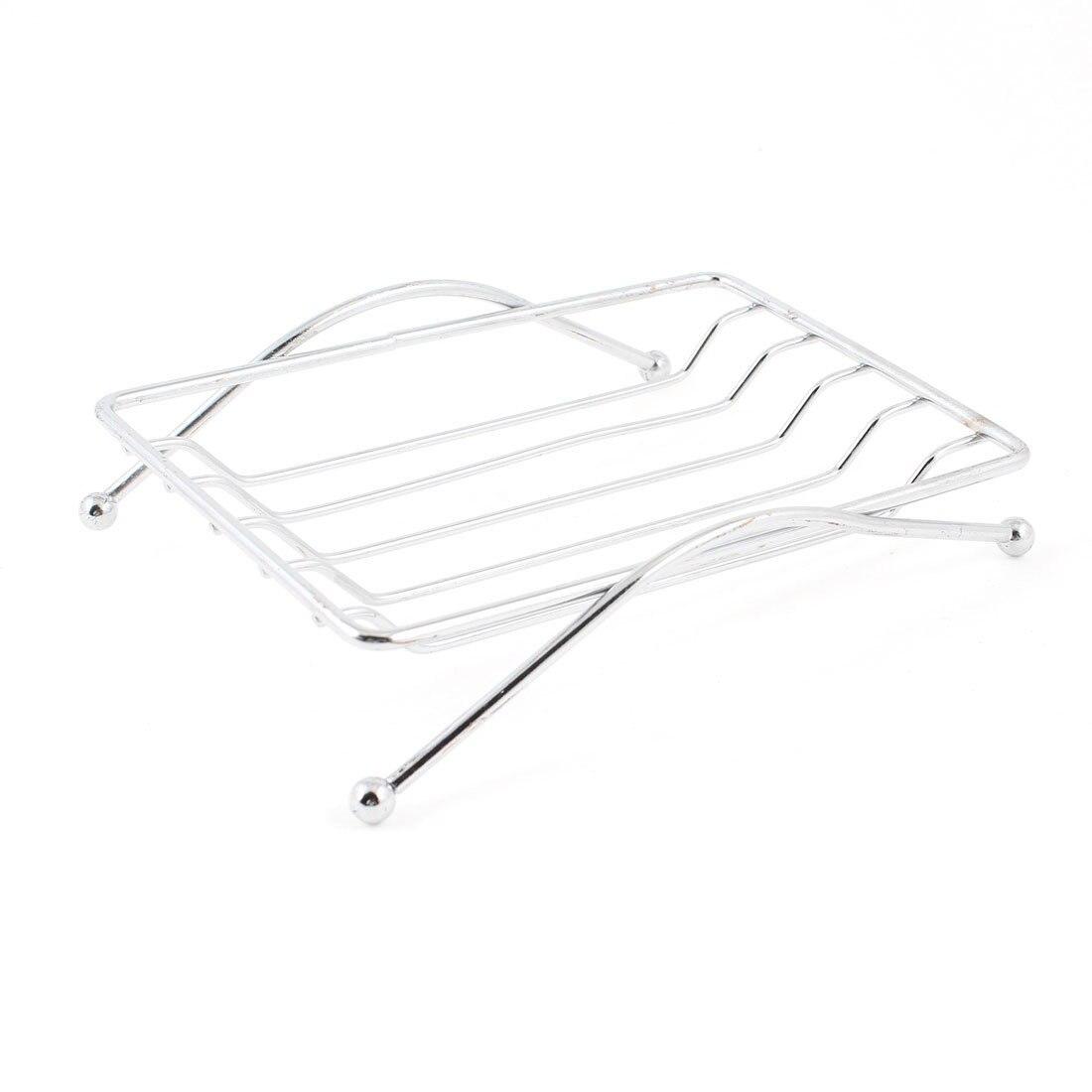 Bathroom Shower Soap Holder Stainless Steel Rack Tray Strainer 4.3
