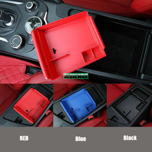 NEW DIY car-styling armrest storage box tray storage box Car styling For alfa romeo Giulia 2017 Auto Accessories automobiles 1PS