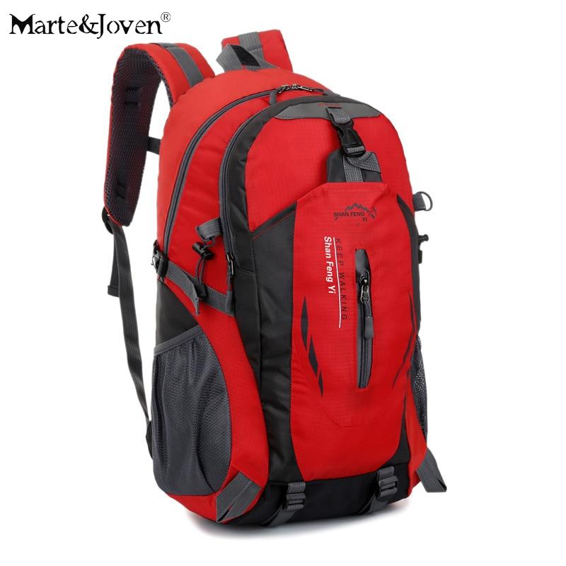 ФОТО 50L Large Capacity Trekking Rucksacks Men and Women Multifunction Traveling Backpack New Brand Solid Travel Bags Knapsack