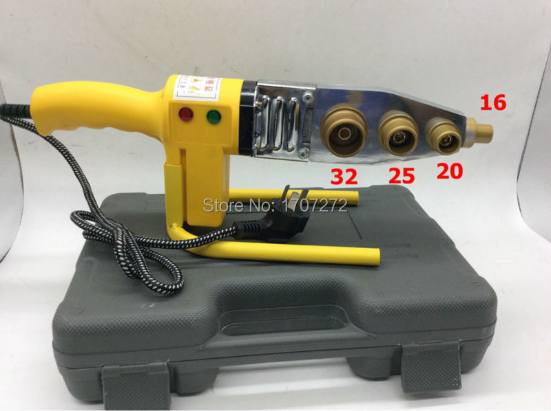 Free Shipping Full Automatic Heating PPR Pipe Welding Machine, plastic welder AC 220V 600W, 16-32mm welding plastic  цены