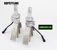 Hopstyling 2pcs 5S 80W 8000LM Car LED Headlight Kit Top Quality Car Styling H4 H13 9007