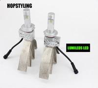 Hopstyling 2pcs 5S 80W 8000LM Car LED Headlight Kit Top Quality Car Styling H4 H13 9007
