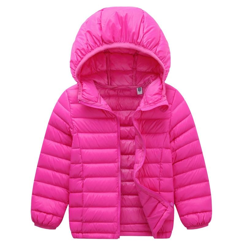 2017 Newest 2 13Y Ultra light baby Girls boys down jacket 90 duck down coat winter