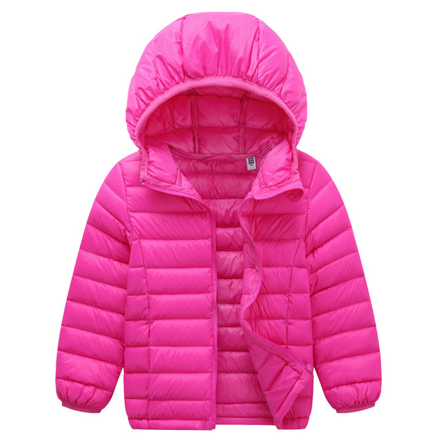4ce3a4766 2018 Newest 2 13Y Ultra light baby Girls boys down jacket 90% duck ...