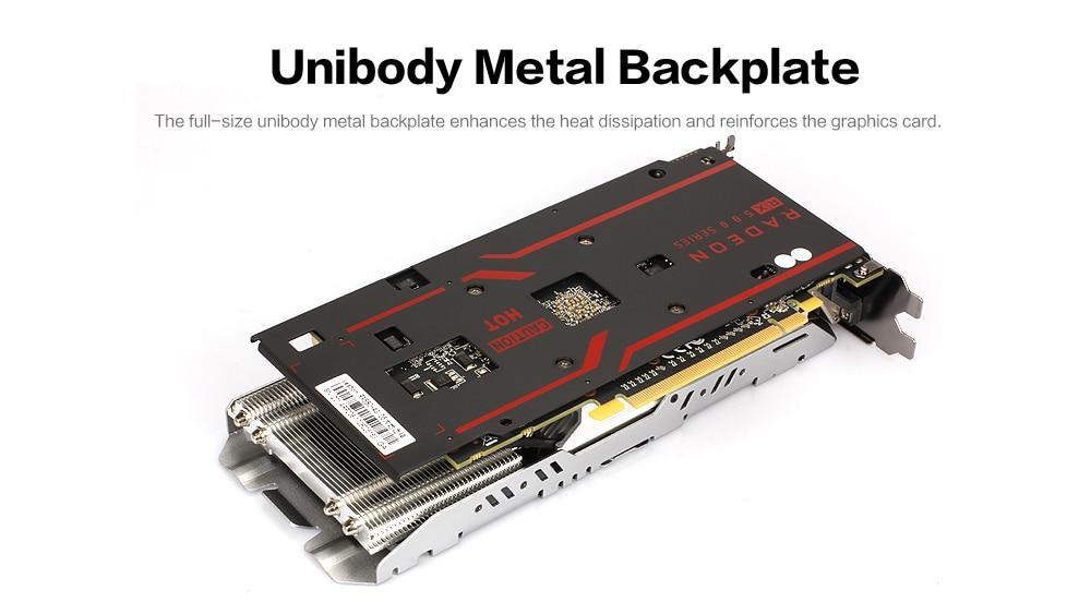 Yeston Radeon RX 580 GPU 8GB GDDR5 256 bit Gaming Desktop computer