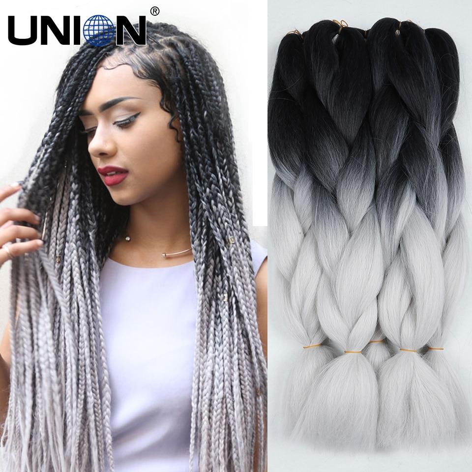 ... hair extension synthetic crochet box braids hair jumbo purple colors