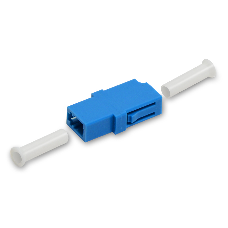 LC-LC Optical Fiber Coupler, LC-LC Multimode Single mode Simplex Fiber Optic Adapter, 50PC/Lot