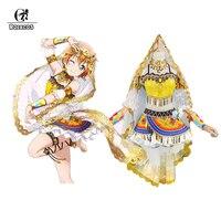 ROLECOS Anime Love Live All Characters Cosplay Costumes Dancers Arousal Kousaka Honoka Minami Kotori Ayase Eli