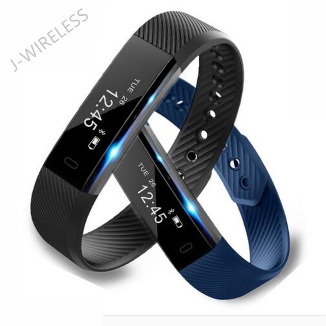 Origional ID115 Smart Bracelet Sports Fitness Tracker Pedometer Band Alarm Clock Vibration Wristband for ios Android