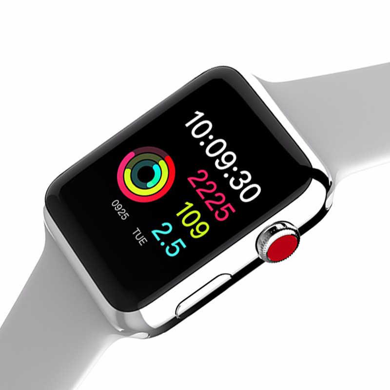Сердечного ритма Смарт часы серии 3 Smartwatch спортивный браслет  секундомер Bluetooth W53 наручные часы для телефона ee1b7f6910324