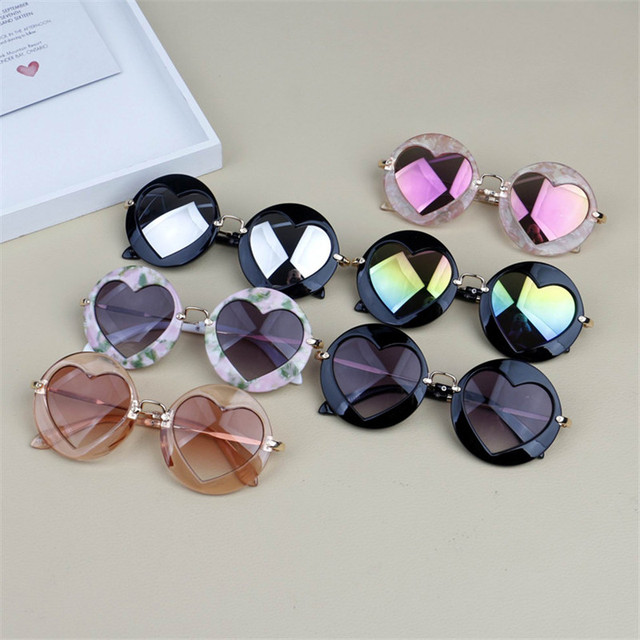 Metal Heart Kids Sunglasses 5