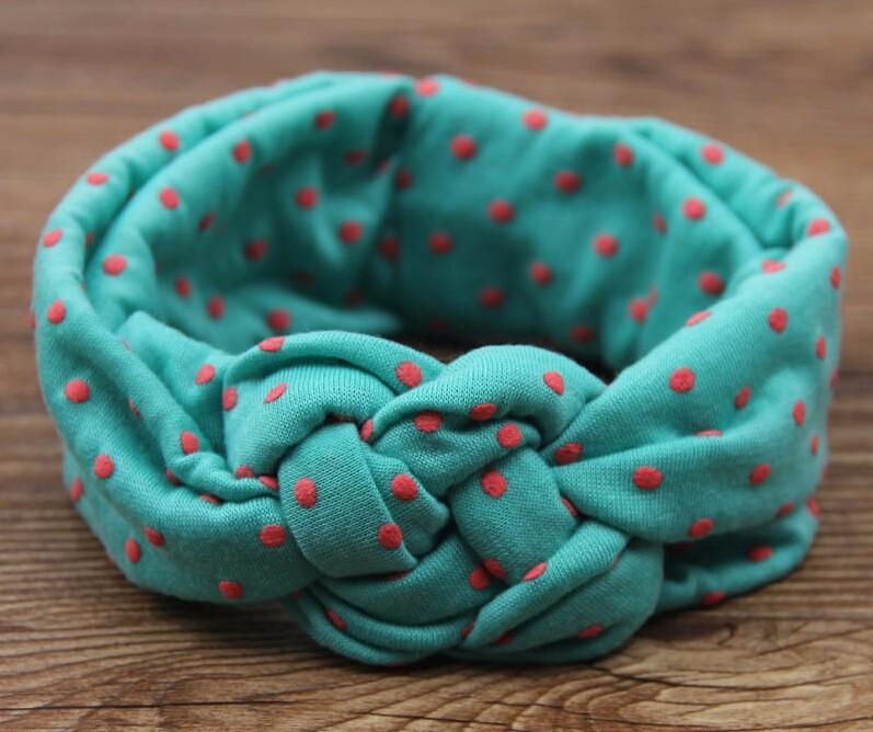 Baby Printing Knot Hair Band