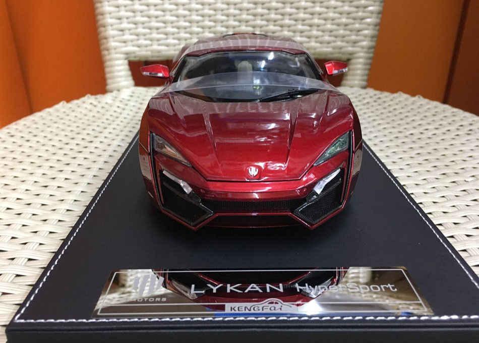 ... Kengfai Lykan HyperSport W Motors Car 1/18 Scale Resin Model High Quality NIB ...