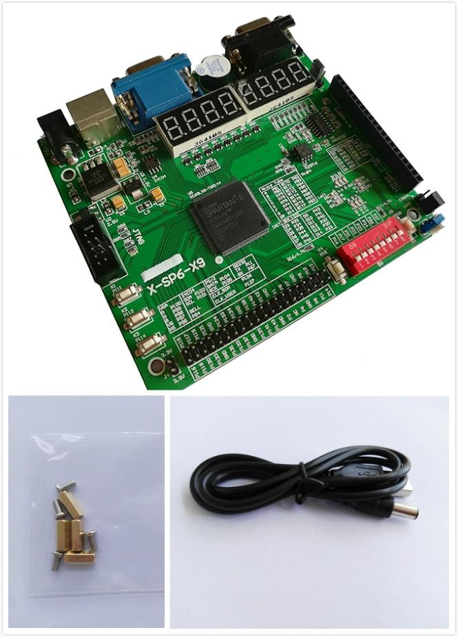 Xilinx fpga Placa de desarrollo spartan-6 xilinx Junta xilinx xc6slx9-tqg144 fpga Placa de desarrollo