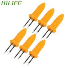 Hilife многофункциональная 6 шт./компл. принадлежности для держатели для кукурузы вилки Инструменты для барбекю
