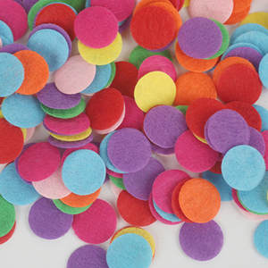 OLOEY Felt Pads for Fabric Flower Accessories Scrapbook
