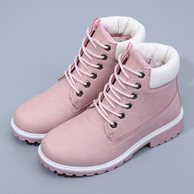 autumn winter women ankle boots new fashion woman shoes snow boots for girls ladies work shoes plus size KG-26
