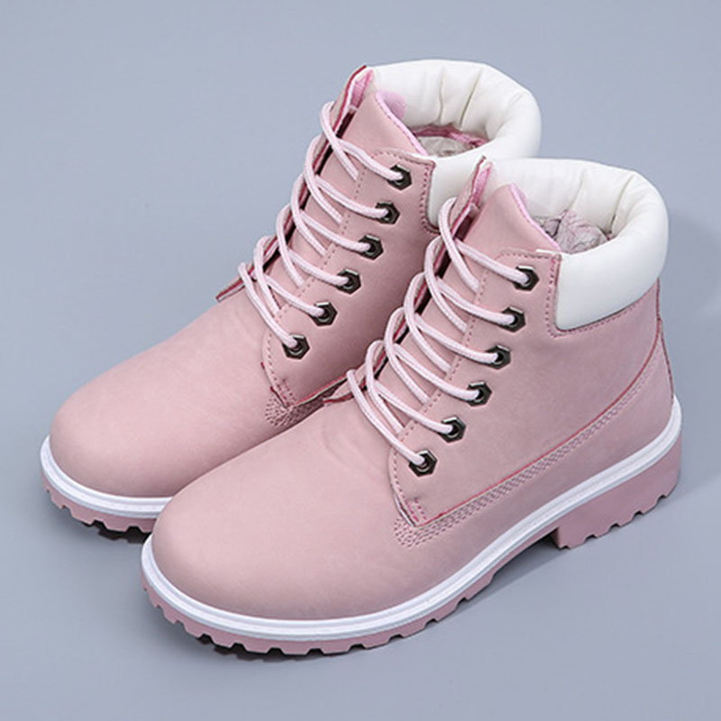 autumn winter women ankle boots new fashion woman shoes snow boots for girls ladies work shoes