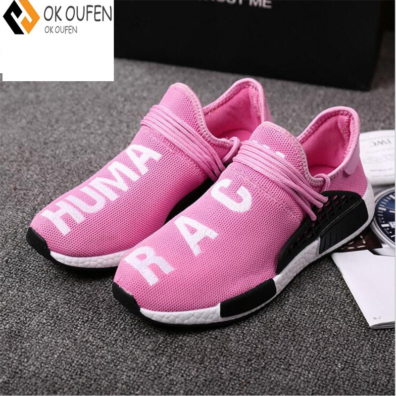 3d8f8ab5b05ef OKOUFEN Tenis Designer Men Shoes Casual Mesh Luxury Breathable Human Race  Trainers Slip on Krasovki size 35 46-in Men s Casual Shoes from Shoes on ...