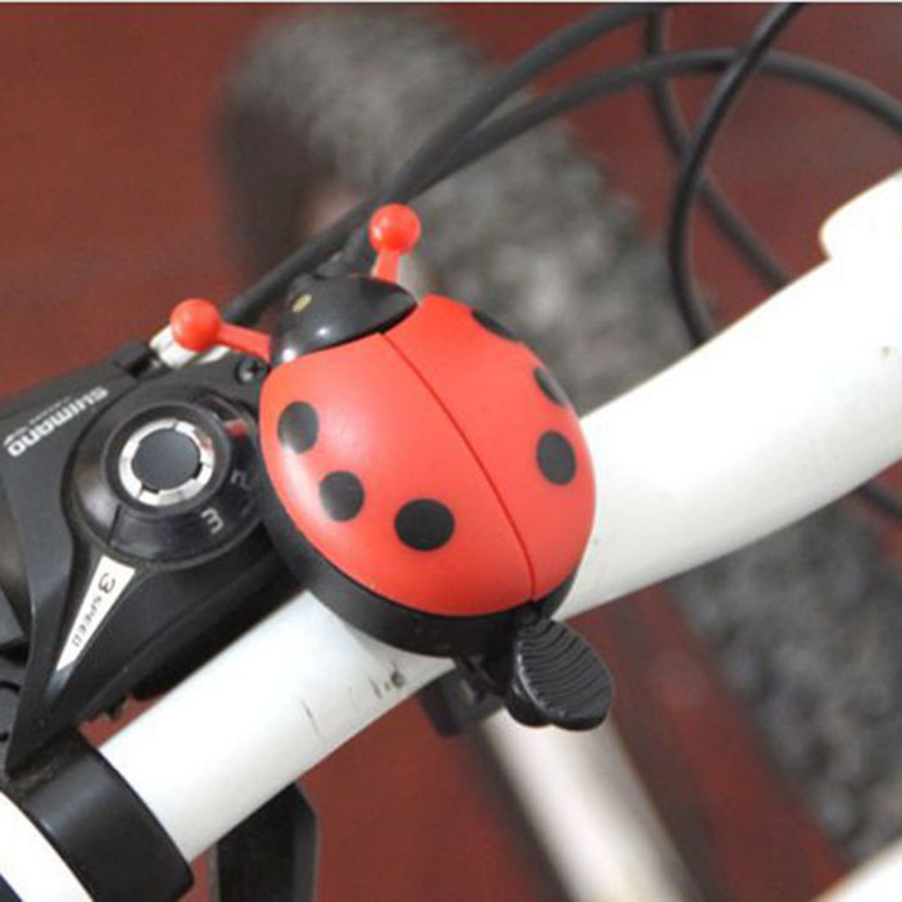 Bicycle Bell Funny Lovely Beetle Handlebar Ladybug Ring Cycling Bell for outdoor fun sports Ride bike ring Bicycle Accessories