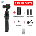 Free Gifts DJI OSMO Handheld 4K Camera and Stabilizer Original 3-Axis Gimbal phantom 3 Newly Hot product DHL EMS Free