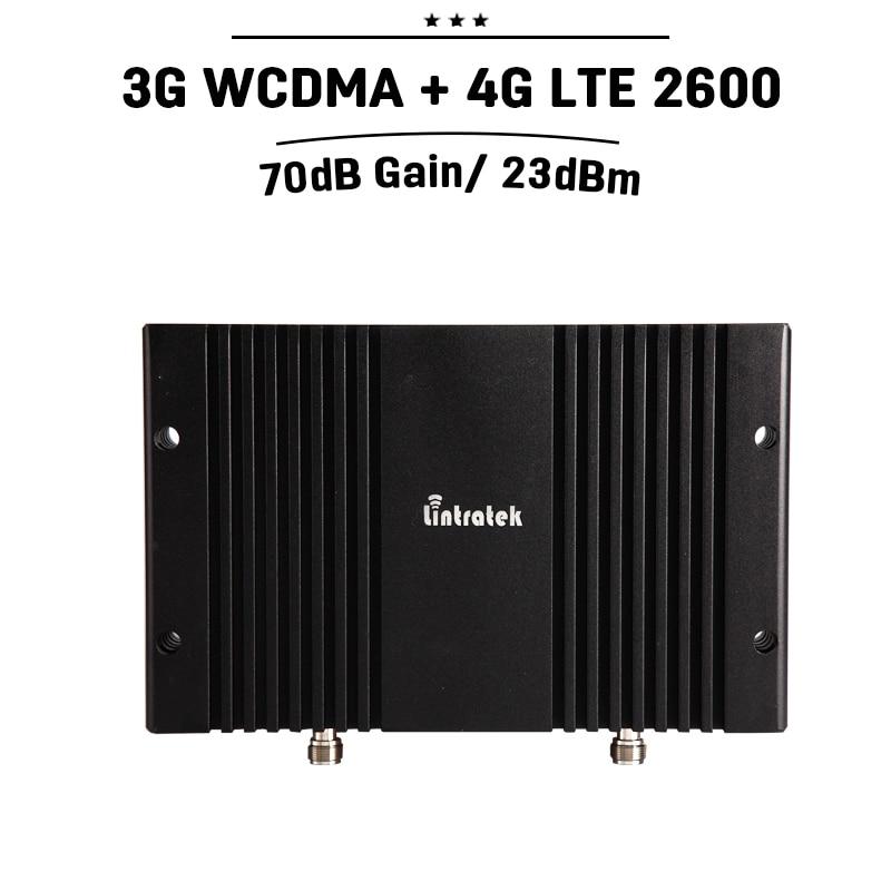 3G 4G Signal Repeater 70dB Gain 3G WCDMA 2100 4G LTE 2600 Band 7 Dual - Reservdelar och tillbehör för mobiltelefoner