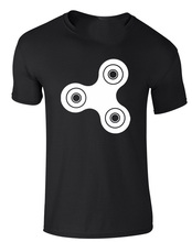 Brand88 - Fidget Spinner, Adults Printed T-Shirt  Free shipping newest Fashion Classic Funny Unique gift