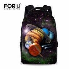 Forudesigns довольно Galaxy Star Universe пространство рюкзак для Для женщин классический подросток Обувь для девочек школьная ноутбук backbag рюкзак 17 дюймов